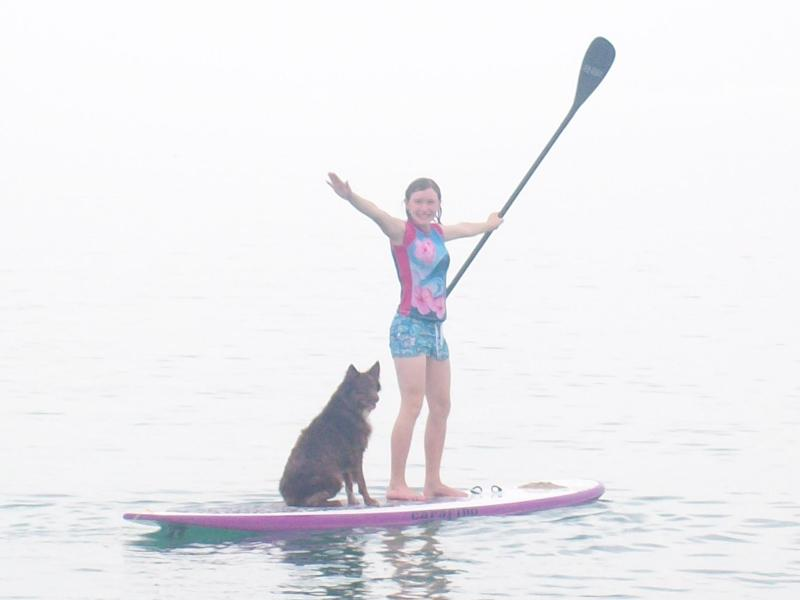 Stand Up Paddleboarding is fantastic in our Sea of Cortez