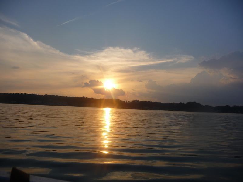 Sunset on Claytor Lake