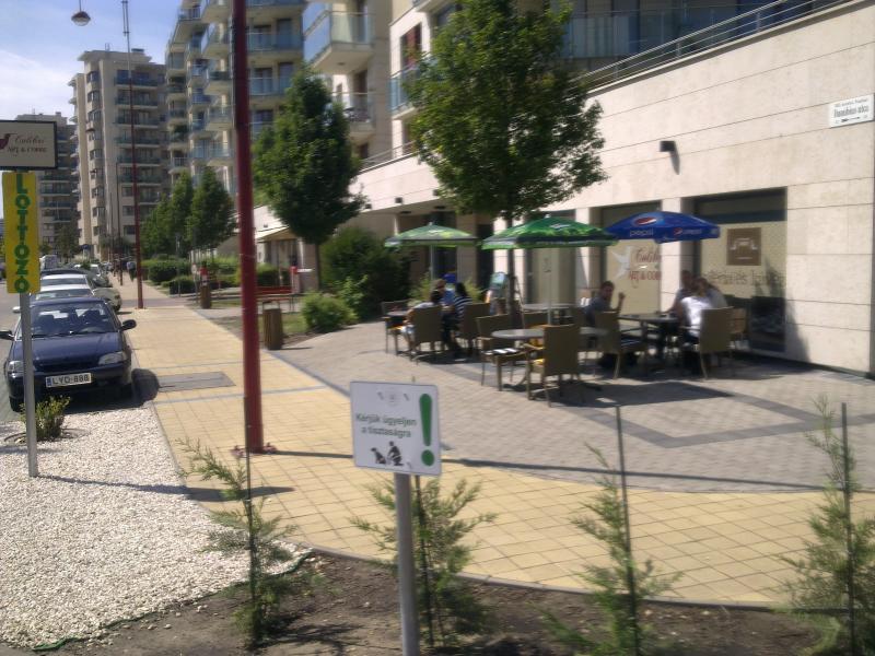 caffeteria next corner