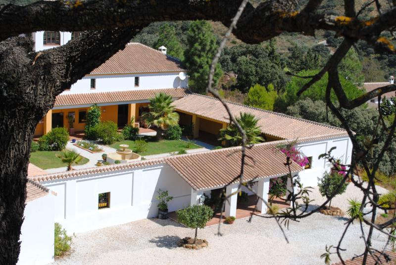 the cortijo from above