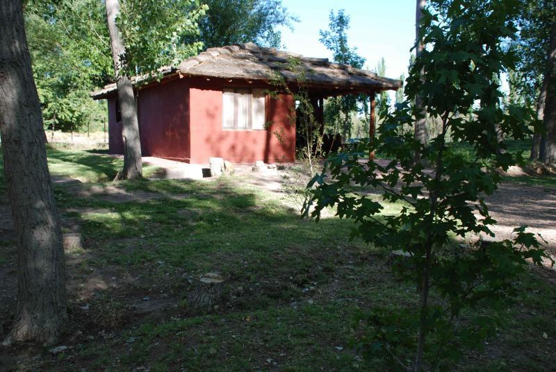 Cabañas El Bosque Small Cabaña, alquiler de vacaciones en San Rafael