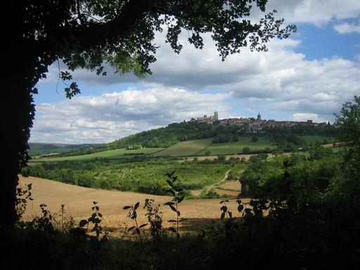 Vezelay from the north