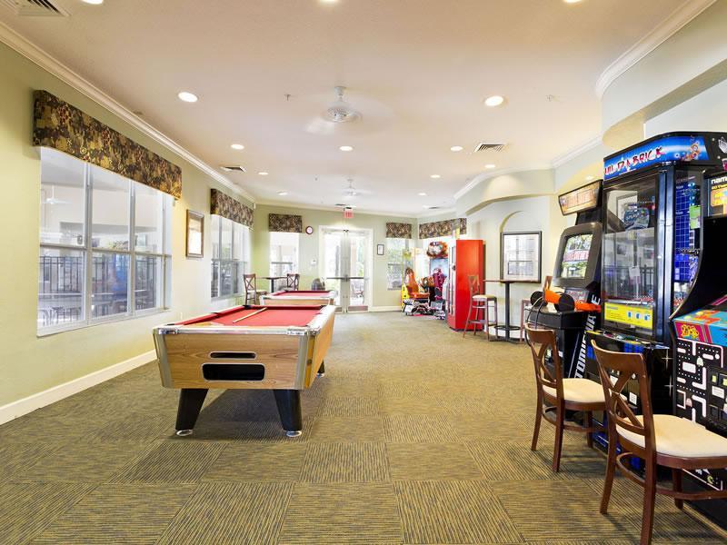 Windsor Hills game room