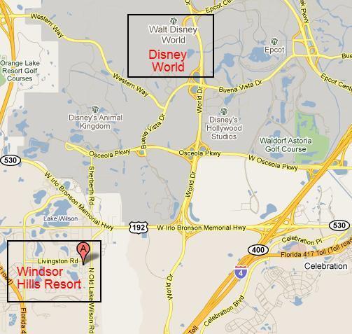 Great location near Disney attractions!