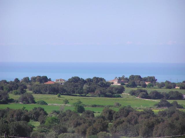 il panorama dalla casa