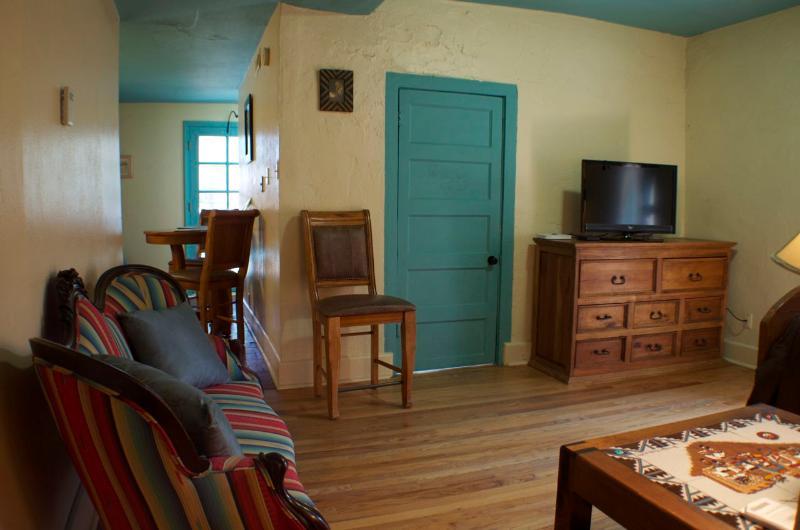Queen Bedroom in Studio