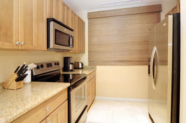 Galley Kitchen with dishwasher & disposal