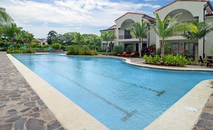 Lap lane pool 1 of 3 available Pacifico swimming area's inside gated community
