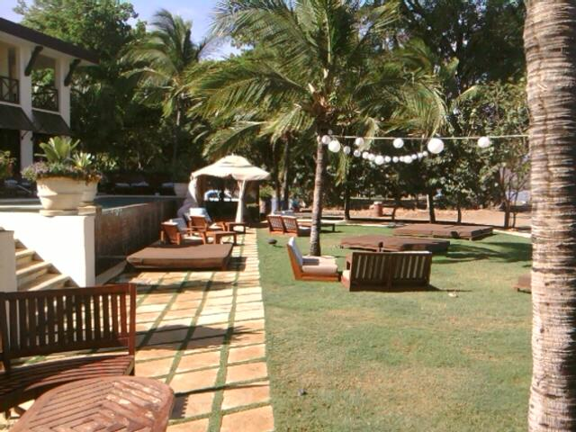 Beach Club offers pool/ocean side lawn furniture and chair canopy tent's
