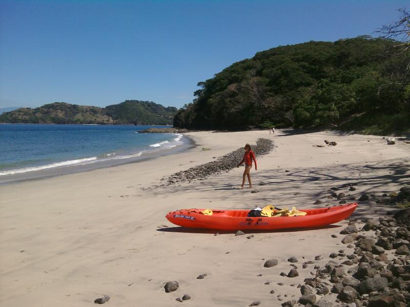 Penca beach is close by white sand ocean snorkeling and swimming destination