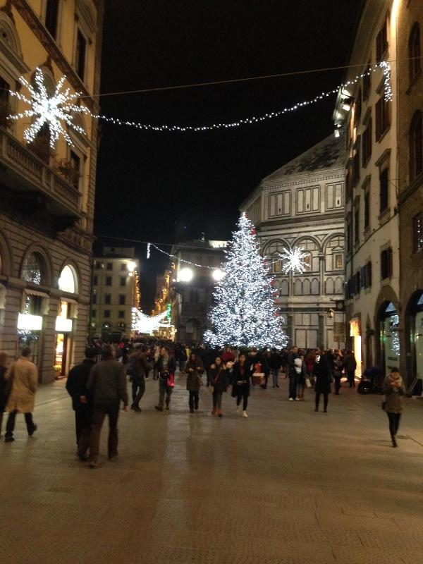 Florence at Christmas time