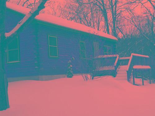 cabin winter