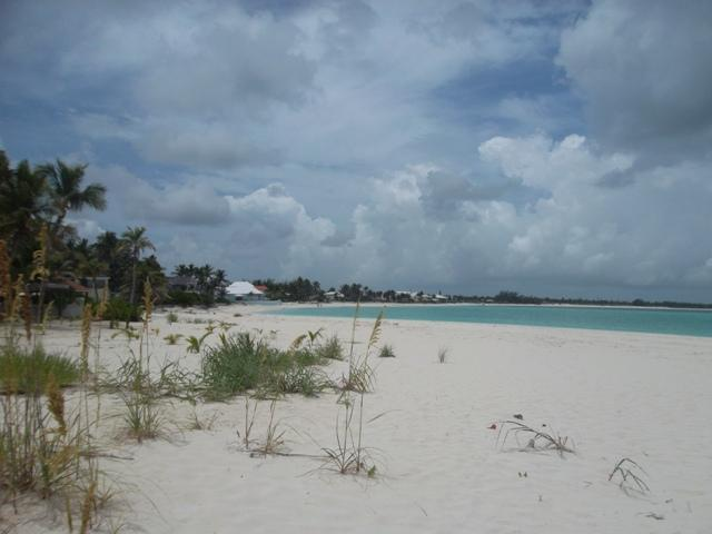 Treasure Cay beach West.  4 minutes by golf cart