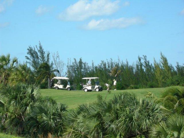 Golfing is one of the many amenities of the community