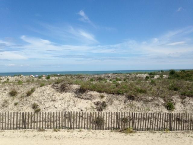 3412 Wesley Vista de la playa