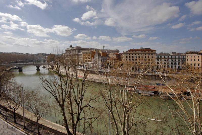 TIBER VIEW - View from the terrace B