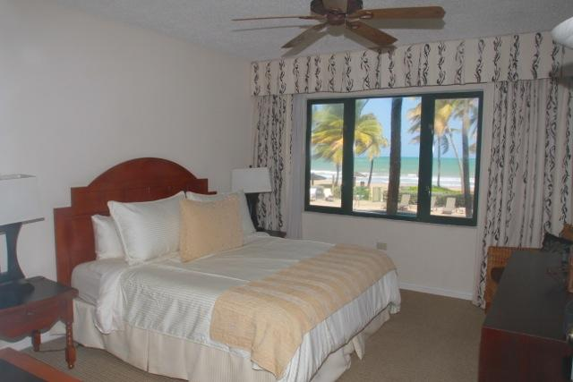 Your master king size bed is SO comfortable after an active day on the island.