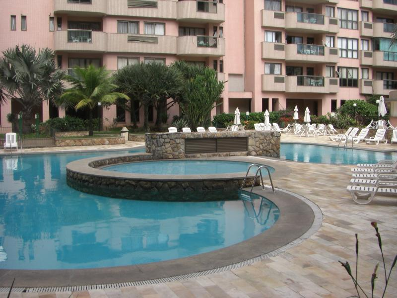Outdoor heated pool and kids pool