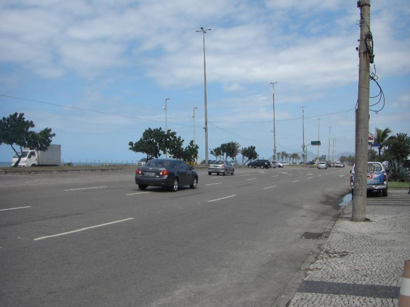 Street view and beach