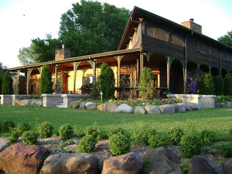 Wisconsin locations saisonnières dans le lac vert