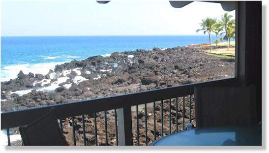 Kanaloa 1703 3BR Oceanfront, holiday rental in Kailua-Kona