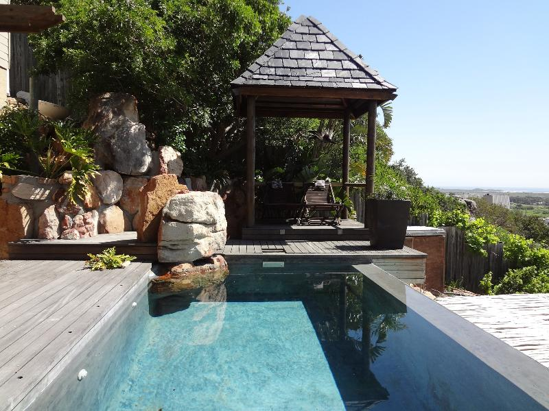Private  infinity pool for the Terrace Suite