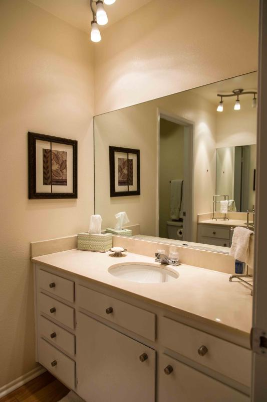 Guest Bath with Tub and 2 vanities