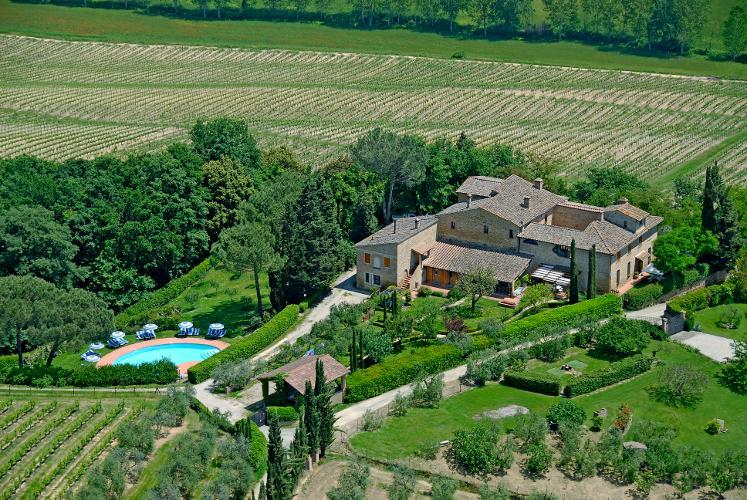 Villa La Ripa - Fienile, vakantiewoning in Ulignano