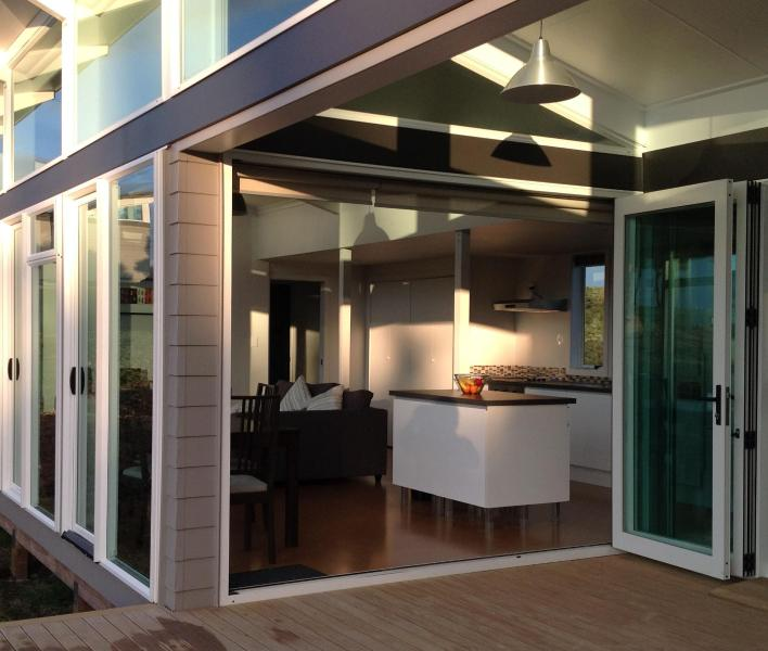 Dining & Kitchen from deck