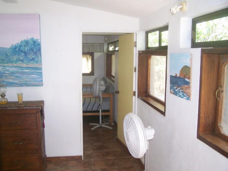 Passage de la Cabana à la chambre à coucher