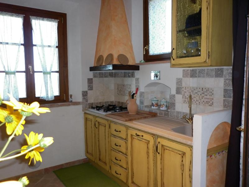 appartament 'il Baluardo'  near Volterra, holiday rental in Palagio