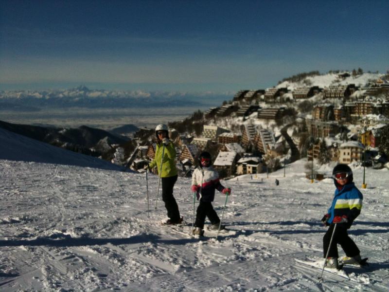 Skiing in Prato Nevoso