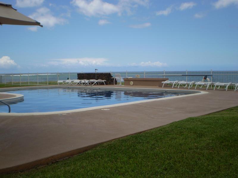 Oceanfront heated saltwater pool