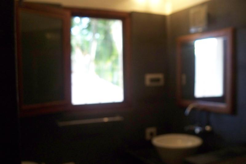 bathroom granite and western style
