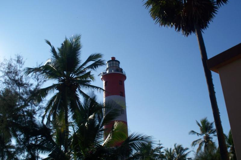 kovalam light house 200 metres from house