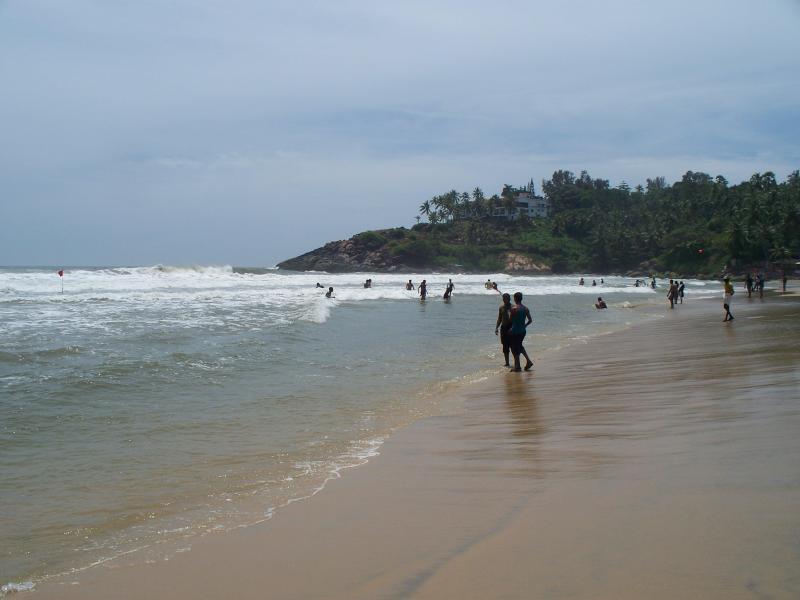 kovalam beach arabian sea 150 m from the house