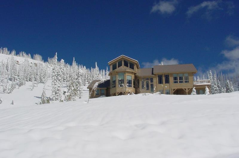10,300' elevation in winter