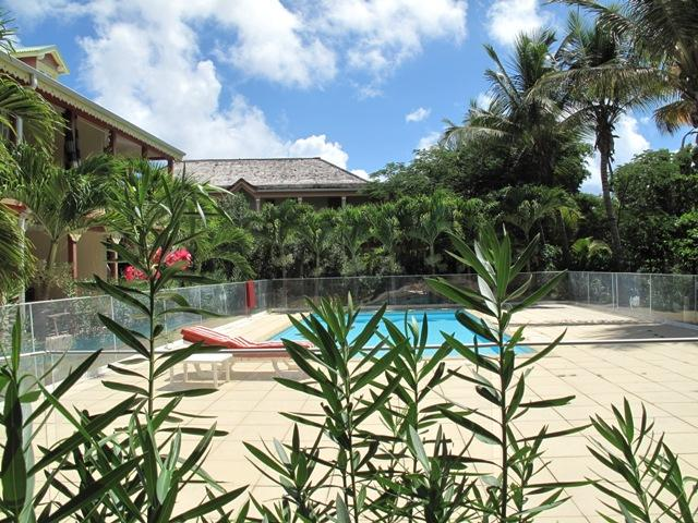 LATANIERS 12...affordable condo in the heart of Orient Village, St Martin, holiday rental in Orient Bay
