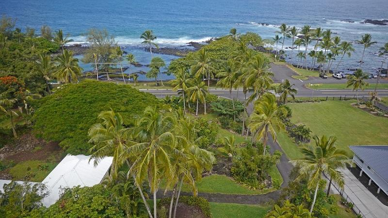 Rare Oceanfront, Richardson's Beach Park. Sleeps 12. Kayaks ect., swim w/turtles, alquiler de vacaciones en Hilo