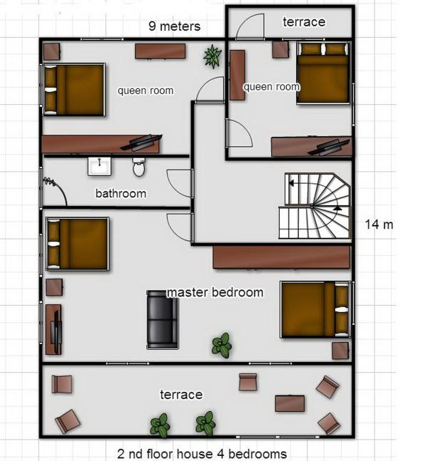 layout 2nd floor
