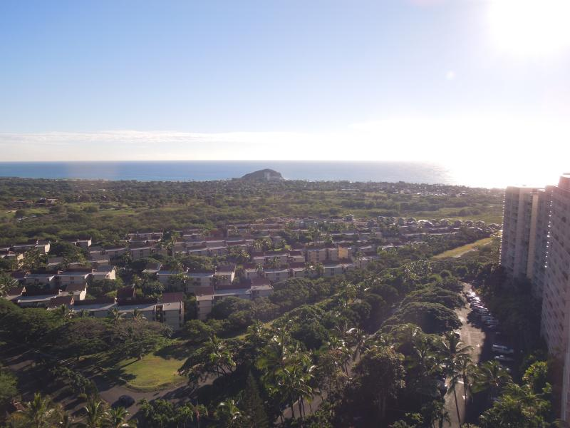 Panoramic ocean view from my lanai