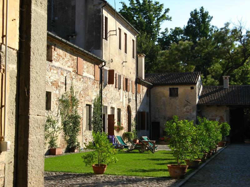 Live the charme of an ancient Farmhouse - studio for 2, vacation rental in Luvigliano