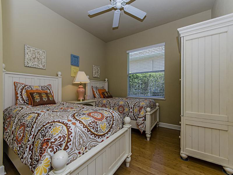 4th bedroom, 2 twin beds