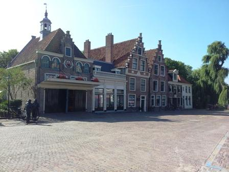 The famous cheese market of Edam