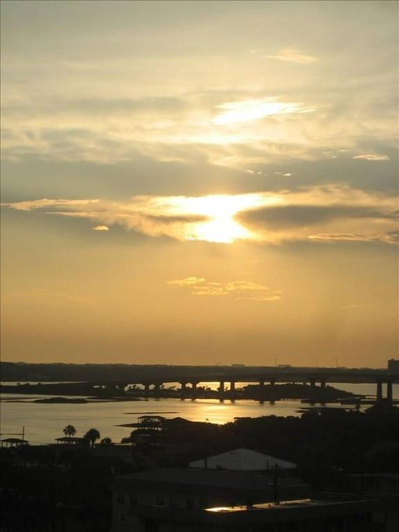 Third Bedroom View: Sunset over River Halifax!