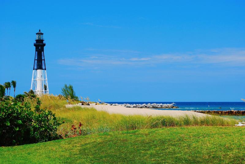 Breathtaking Private Beach Overlooking Hillsboro Inlet & Lighthouse!