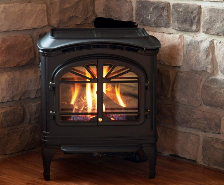 Gas Franklin Stove
