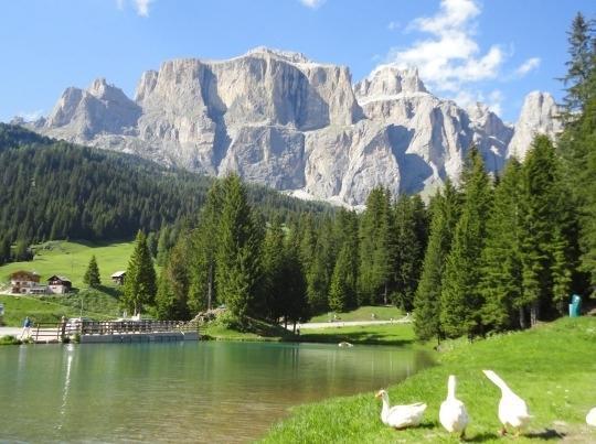 Sella Mount - Lupo Bianco's small lake