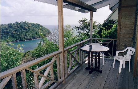 Balcony and sea view