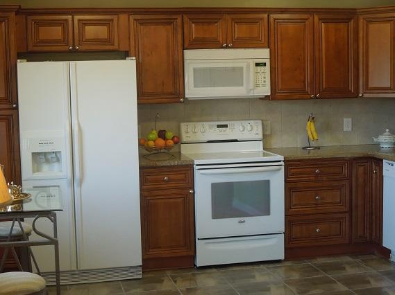 nova cozinha com bancadas em granito